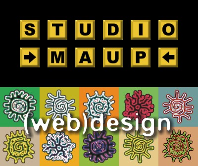 Website door Studio Maup